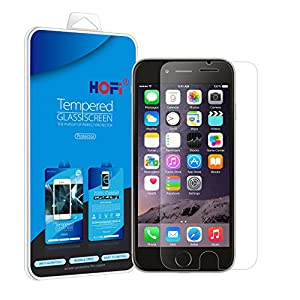 """[iPhone 6/6s plus Tempered Glass Screen Protector] HOFi Premium 0.26mm Tempered Glass Screen Protector for iPhone 6 4.7"""" with Anti-Scratch, Anti-Fingerprint, Bubble Free, Explosion-Proof and Pressure-Resistant Function - Retail Packaging by HOFI"""