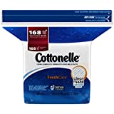 Cottonelle Fresh Care Flushable Moist Wipes Refill, 168ct