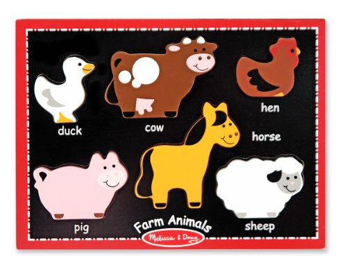 Melissa & Doug First Chunky - Farm Animals