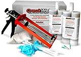 CrackWeld® PRO Concrete Floor Repair Kit - Seal Cracks In A Basement Floor, Driveway, Garage, Patio, Pool Deck Reviews