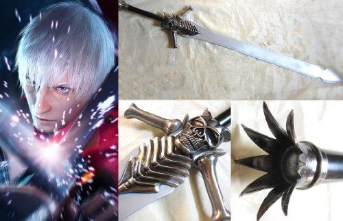 Dream2reality Cosplay Devil may cry Dante Rebellion Stainless Steel Sword