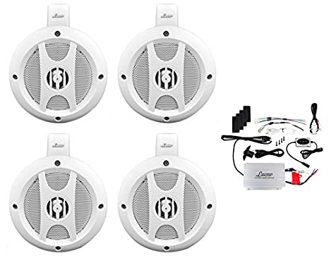 Lanzar OPTIUTVA10B Lanzar ATV Speaker System
