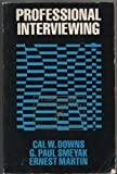 img - for Professional Interviewing book / textbook / text book