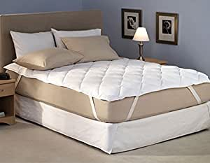 buy home originals 100 waterproof double bed mattress protector 72x75 inches online at low. Black Bedroom Furniture Sets. Home Design Ideas