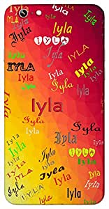 Iyla (Moonlight) Name & Sign Printed All over customize & Personalized!! Protective back cover for your Smart Phone : Apple iPhone 7