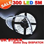 Day White 5M (16.4ft) 300 LED Strip L...