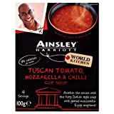 Ainsley Harriott Tuscan Tomato, Chilli & Mozzarella Cup Soup 4x100g