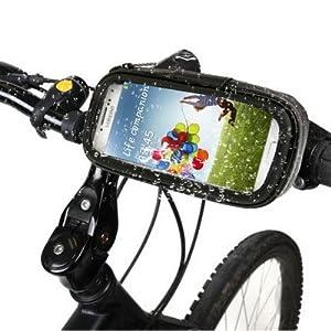 Rocina BIG Set Motorrad/Fahrrad Tasche inkl. Bike Halter XL für Smartphone