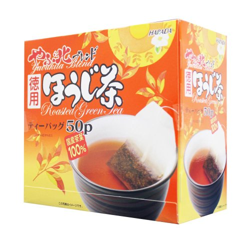 Harada Tea - Value: Yabukita Blend Japanese Houji-Cha Teabag (2G×50P) Roasted Green Tea Extra Volume & Value Price From Japan 【No Tracking Number】