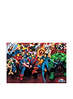 Artopweb Panel Decorativo Supereroi Marvel 60x90 cm Multicolor