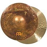 Meinl Cymbals B14SAH Byzance 14-Inch Vintage Sand Hi Hat (VIDEO) (Color: B14SAH, Tamaño: 14