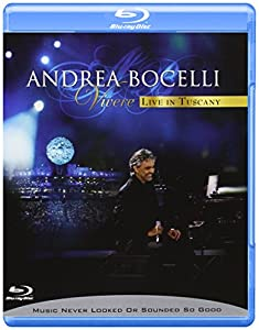 Andrea Bocelli - Vivere/Live in Tuscany [Blu-ray]