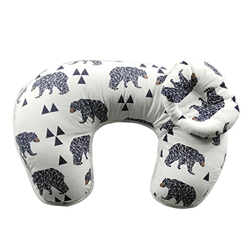 2PcsSet-Maternity-Pillow-Breastfeeding-Nursing-Pillow-For-Babies-Newbron-Support-Cotton-Bear-Pattern