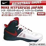 (ナイキ)NIKE バスケットボールシューズ ハイパーフューズJAPAN 556149 100 ホワイト/ユニバーシティレッド 25.5Cm