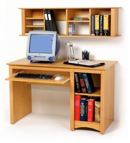 Sonoma Maple Finish Home Office Computer Desk