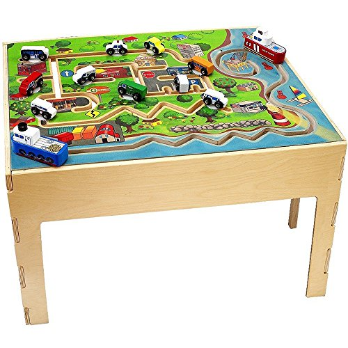 Anatex City Transportation Kids Activity Table Ctt7706