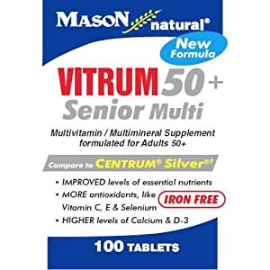 amazon com mason natural vitrim 50 plus senior