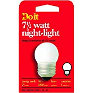 GE Private Label18329Do it 7-1/2W Night-Light Bulb-7-1/2W NIGHT LIGHT BULB