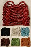 Cuff Bracelets - Beaded Stretch Style, 7 Colors, Indonesian. Free Gift with Every Bracelet!