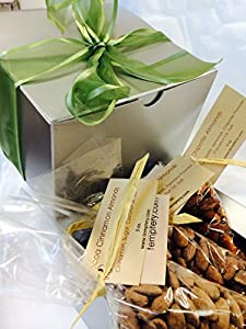 Nut Lover's Assortment -- Flavored Almonds 3 Ways: Chocolate Dusted, Cinnamon and Spicy Chipotle -- A Popular Gift!