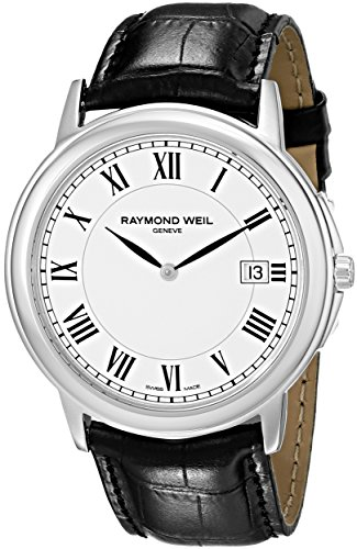 raymond-weil-tradition-white-dial-stainless-steel-mens-watch-54661-stc-00300
