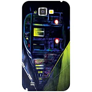 Samsung Galaxy Note 2 N7100 - Machine Matte Finish Phone Cover
