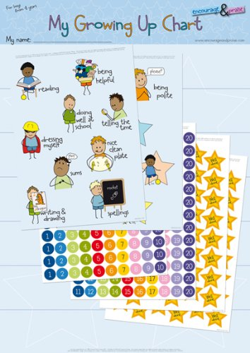 Grown Up Toys For Boys : My growing up chart for boys yrs educational toys store