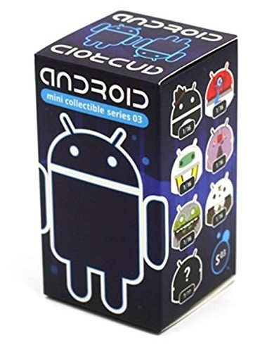 Google Android Mini Collectible Figures, Series 3 (1 Blind Box) Assorted Single - 1