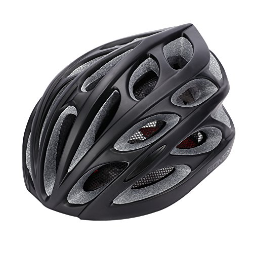 Gonex Adult Bike Helmet, Cycling Road Mountain Helmet with Safety Light, Adjustable 58-62cm, 24 Integrated Flow Vents (Cycling Road compare prices)