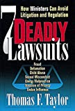 Seven Deadly Lawsuits: How Ministers Can Avoid Litigation and Regulation
