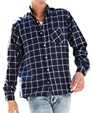 マイノリティセレクト(MinoriTY SELECT) ネルシャツ メンズ チェック ネル シャツ 長袖 赤 黒 S C柄(11)