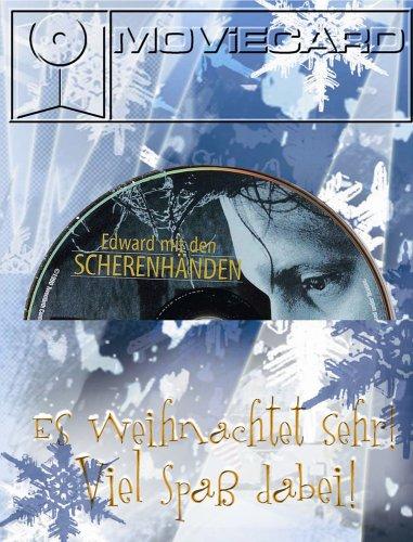 Edward mit den Scherenhänden - Moviecard (Glückwunschkarte inkl. Original-DVD)