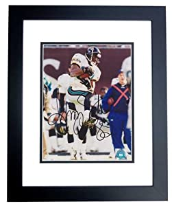Jimmy Smith Autographed Hand Signed Jacksonville Jaguars 8x10 Photo - BLACK CUSTOM... by Real Deal Memorabilia