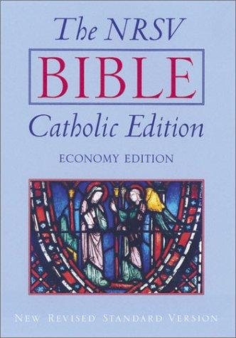 The NRSV Bible, Catholic Edition, Economy Edition