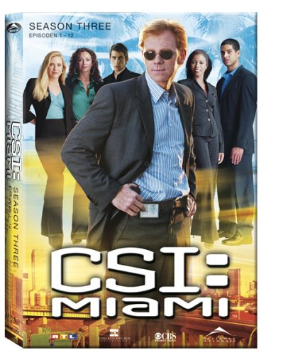 CSI: Miami - Season 3.1 (3 DVDs)