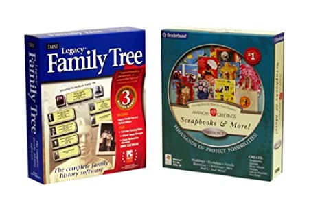 Legacy Family Tree/ American Greetings Scrapbooks and More