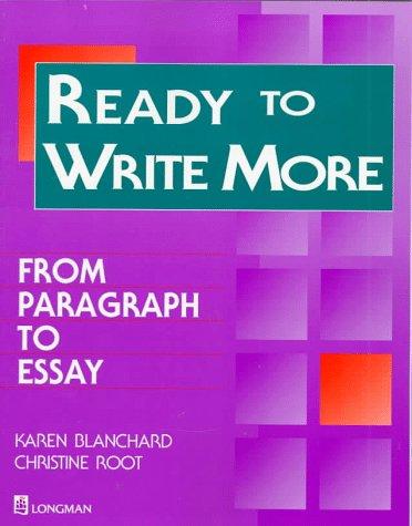 Essays on writing longman