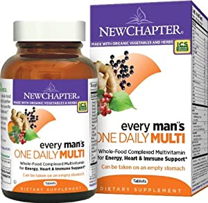 New Chapter Every Man's One Daily Multivitamin, 72 Tablets
