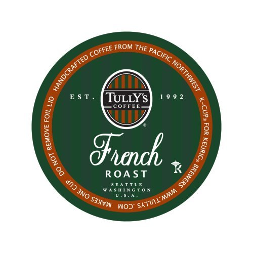 Tully's French Roast Coffee K-cups 192 Ct (8