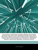 Articles on Salicylates, Including: Aspirin, Methyl Salicylate, Bismuth Subsalicylate, Trolamine Salicylate, Ethyl Salicylate, Octyl Salicylate, Homos