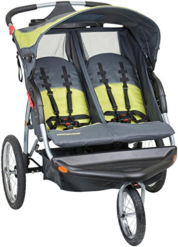 Big Save! Baby Trend Expedition Double Jogger Stroller, Carbon