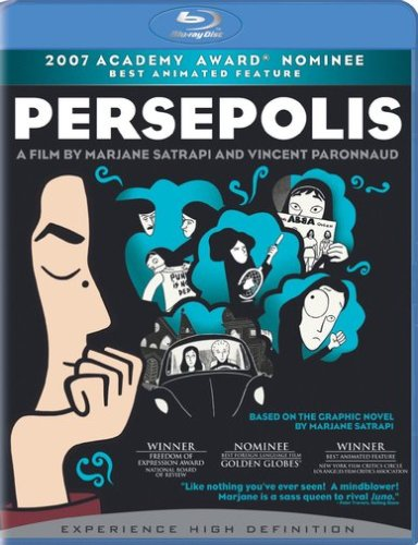 Cover art for  Persepolis (+ BD Live) [Blu-ray]