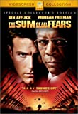 The Sum Of All Fears Special Collector's Edition Region 1