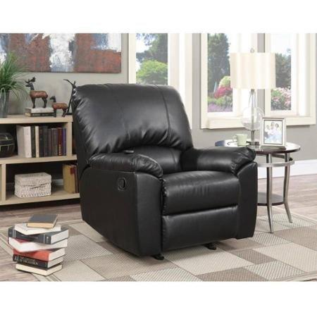 serta-massage-recliner-black