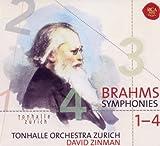 David Zinman Brahms: Symphonies 1-4