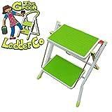 The Green Ladder Company Flat Folding 2 Tread Mini Steps Kitchen