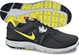 NIKE LunarGlide+ 3 Men's Running Shoes, Black/White/Yellow, UK7