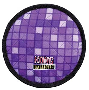 KONG Ballistic Cookie Dog Toy, Medium, Assorted