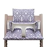 Blausberg Baby High Chair Cushion for Tripp Trapp Oxford lilac