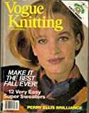 Vogue Knitting International - Fall/Winter 1984 (Perry Ellis Brilliance, Make It The Best Fall Ever)